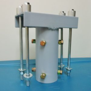 Top of pole vertical mounting bracket for the Freedom II PMG